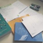 Izmenjava literature in zapiskov